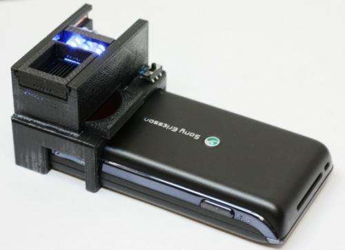 Engineers create cell phone-based sensor for detection of E. coli