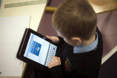 Every pupil at the British School of Paris was issued with an iPad at the start of the autumn term
