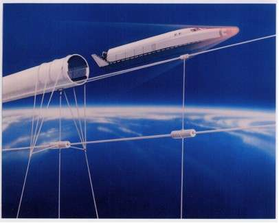 Maglev track could launch spacecraft into orbit