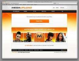Feds shut down file-sharing website (AP)