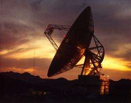 First use of VLBI to focus on a single star system for signs of life comes up empty