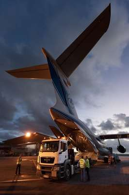 Fourth Galileo satellite reaches French Guiana launch site