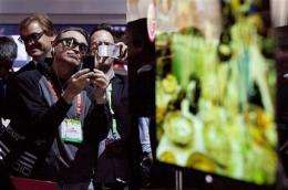 Gadget Watch: 55-inch OLED TVs from Samsung and LG (AP)