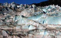 Glaciers: Fossil fuel signature found in Alaskan ice
