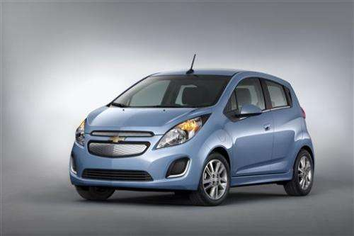 GM hopes new Spark will jolt electric sales