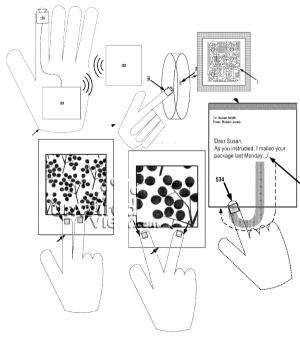 Google seeing-hand patent shows smart glove ambitions