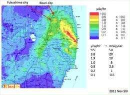 Radiation risks from Fukushima are likely to be less than for Chernobyl