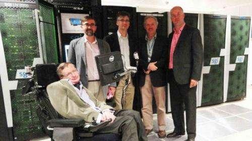 Hawking launches supercomputer