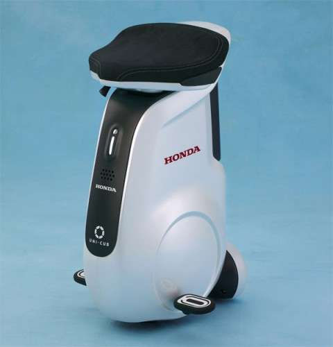 Honda introduces new UNI-CUB personal mobility device