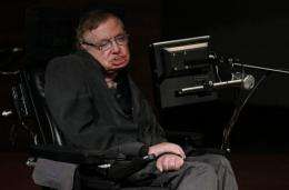 """""""I had a bet ... that the Higgs particle wouldn't be found. It seems I have just lost $100,"""" Hawking said"""