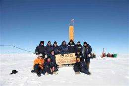 In scientific coup, Russians reach Antarctic lake (AP)