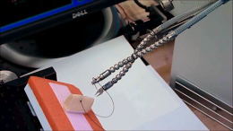 Insertable robot offers new approach to minimally invasive surgery