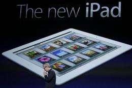 iPad dominates due to Apple's supply deals (AP)