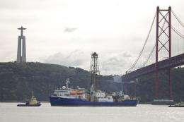 Scientists aboard Iberian coast ocean drilling expedition report early findings
