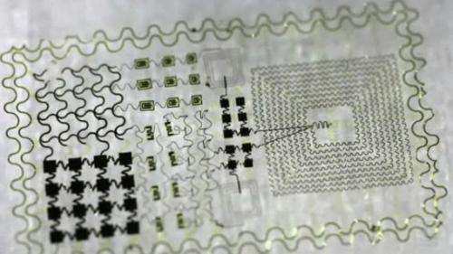 Electronic tattoo monitors brain, heart and muscles (w/ video)