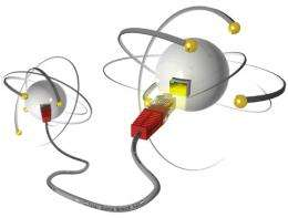 Quantum internet: Physicists build first elementary quantum network