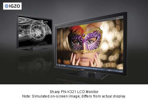 LCD monitor featuring the industry's thinnest design in a high-resolution 4K2K display