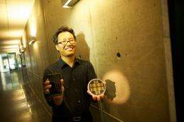 Using cell phones to detect harmful airborne substances