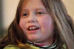 Maine girl bouncing back after 6-organ transplant (AP)