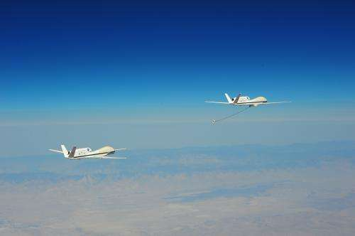Making connections at 45,000 feet: Future uavs may fuel up in flight