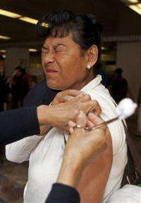 Mexico health sec: Swine flu way up after low year (AP)