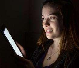 Moderate iPad use won't keep teens up at night
