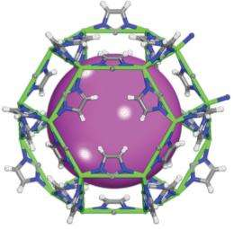 Chemists find new material to remove radioactive gas from spent nuclear fuel