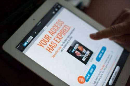 Murdoch announced Monday that The Daily, launched as a paid subscription for the iPad, would be shuttered December 15