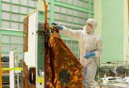 NASA Landsat's thermal infrared sensor arrives at Orbital