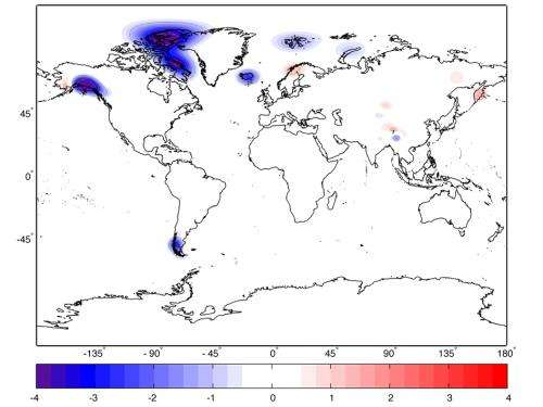 NASA mission takes stock of Earths melting land ice
