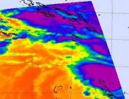 NASA sees cyclone Jasmine's power and new eye