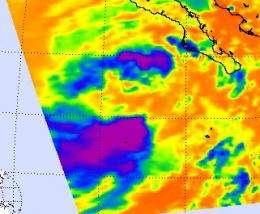 NASA sees the short life of Tropical Depression John