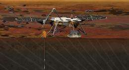 NASAs proposed 'InSight' Lander would peer to the center of Mars in 2016