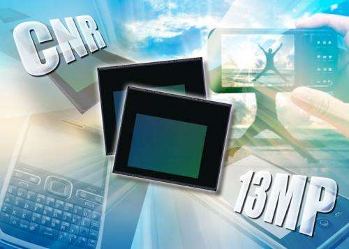 New CMOS image sensor created with on-circuit color noise reduction lowers pixel noise and improves image quality