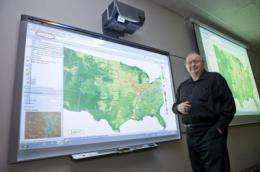 New, content-based geographic map search tool unveiled