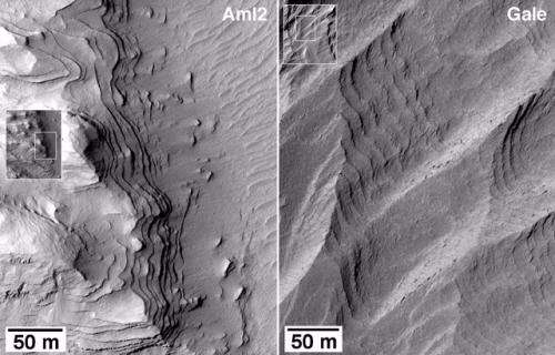New mapping of Mars shows western Medusae Fossae formation older than once thought