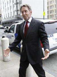 Oracle CEO mulled expansion into smartphones (AP)