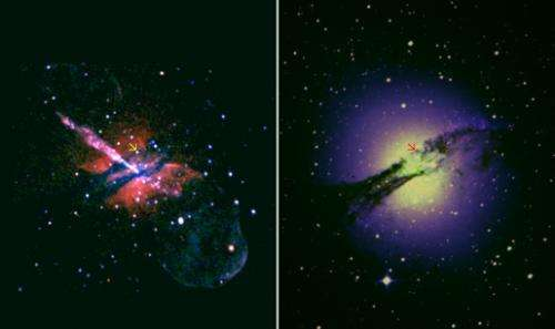 'Ordinary' black hole discovered 12 million light years away
