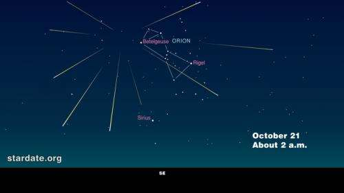 Orionid Meteor Shower Peaks Oct. 20-21, 2012