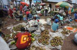 Oxfam warned that food price spikes due to extreme weather have an even greater impact on the poor