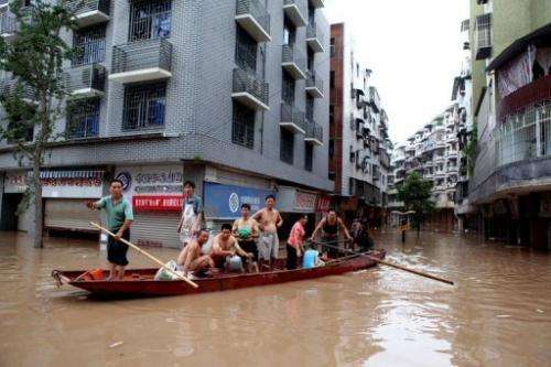 People are four times more likely to be affected by natural disasters in Asia than in Africa, says the ADP