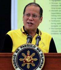 Philippine President Benigno Aquino says he remains committed to freedom of speech