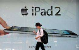"""Proview Technology (Shenzhen) says it owns the Chinese rights for the """"iPad"""" trademark"""