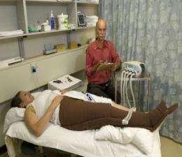 Putting pressure on lymphoedema