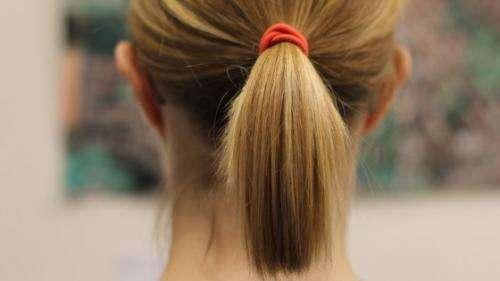Rapunzel, Leonardo and the physics of the ponytail