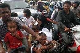 Recent Indonesia quake added pressure to key fault (AP)