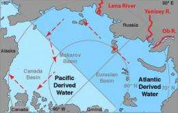 Russian river water unexpected culprit behind Arctic freshening near US, Canada