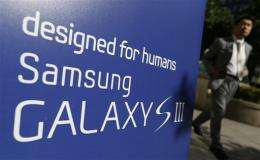 Samsung says Galaxy S III sales hit 20 million