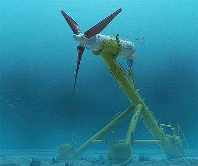 Scotland passes turbine test to harness tidal power