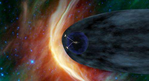 Signs changing fast for Voyager at solar system edge